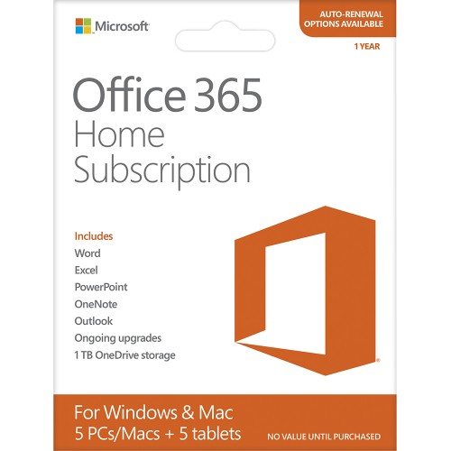 office 365 home 1 yr